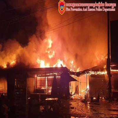 Decrease in fires recorded during this year's Pchum Ben