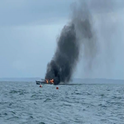 Tragedy at sea: Child and infant among those rescued from Koh Rong boat fire
