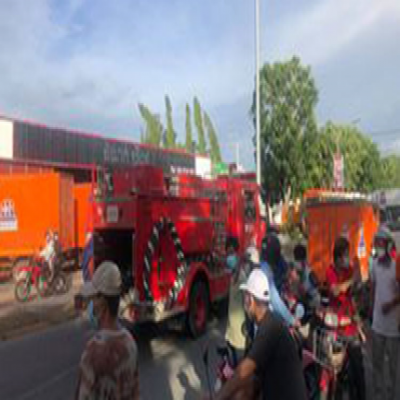 Fire destroys more than 10 buses in Chroy Changvar district